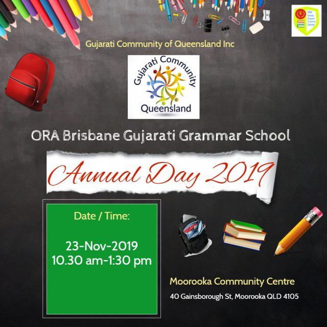 Brisbane Gujarati School Annual Day 2019