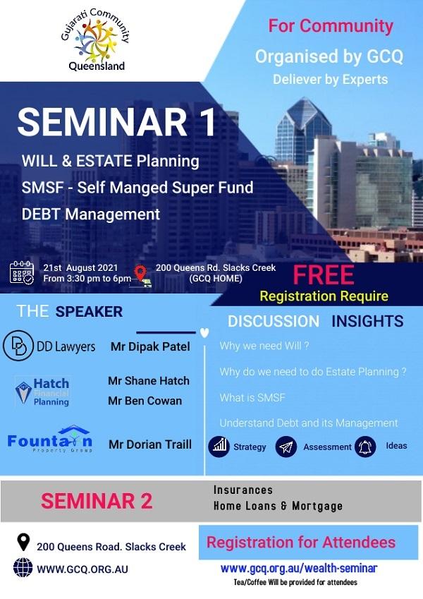 GCQ Wealth Seminar